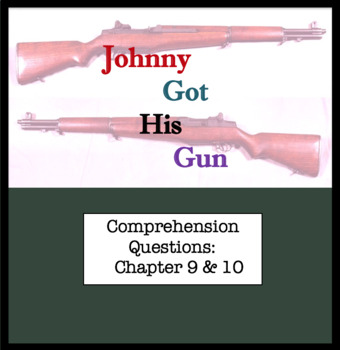 Questions for Johnny Got His Gun by Dalton Trumbo Part Fiv