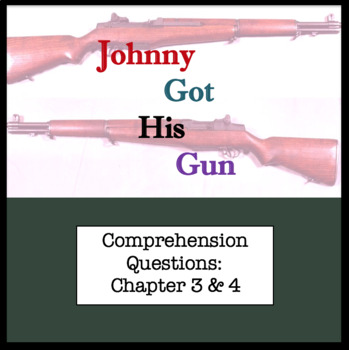 Questions for Johnny Got His Gun by Dalton Trumbo Part Two