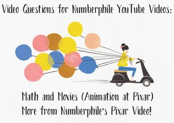 Questions for Numberphile's Pixar Animations Videos!