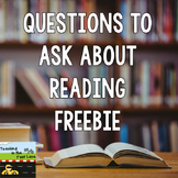 Questions to Ask About Reading Freebie