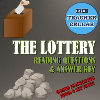 Questions with Answer Key for The Lottery by Shirley Jackson
