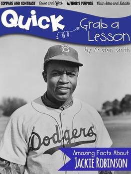 Quick! Grab a Lesson-- Jackie Robinson