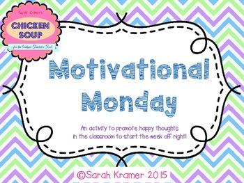 Quick Motivational Monday Activity