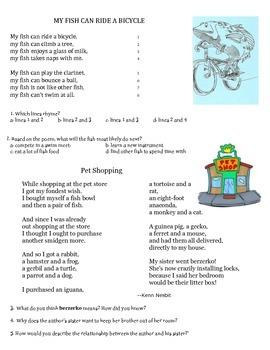Quick Poetry Comprehension