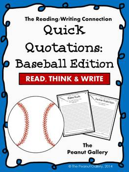 Quick Quotations: Baseball Edition