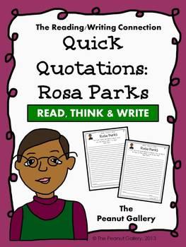 Quick Quotations: Rosa Parks