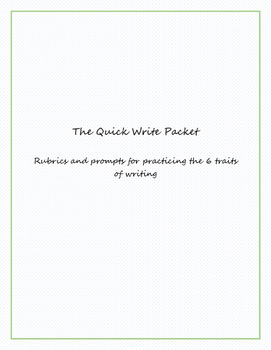 Quick Write Packet