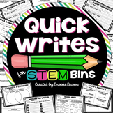 Quick Writes for STEM Bins™