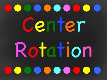 Center Rotation (Automatic Powerpoint)