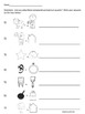 Quick and Easy Compound Word Puzzle Worksheet - FREEBIE!