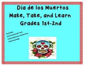 Quick and Easy Dia de los Muertos Make and Take Book Grade