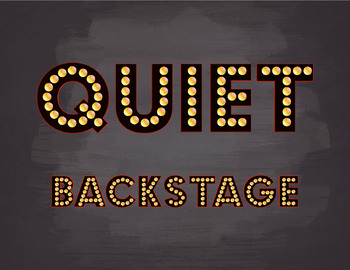 Quiet Backstage