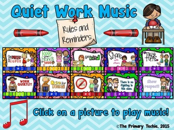 Quiet Work Music At Your Fingertips - Rules and Reminders