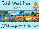 Quiet Work Music At Your Fingertips - Set 1