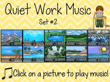 Quiet Work Music At Your Fingertips - Set 2