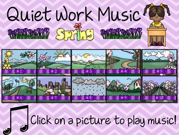 Quiet Work Music At Your Fingertips - Spring