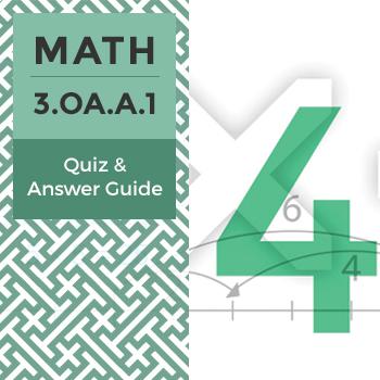 Quiz: 3.OA.A.1