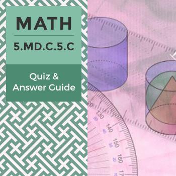 Quiz: 5.MD.C.5.C
