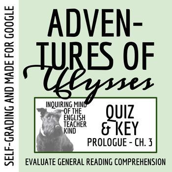 Adventures of Ulysses Quiz (Prologue-pg. 15)