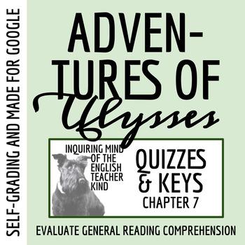 Adventures of Ulysses Quiz (Circe)