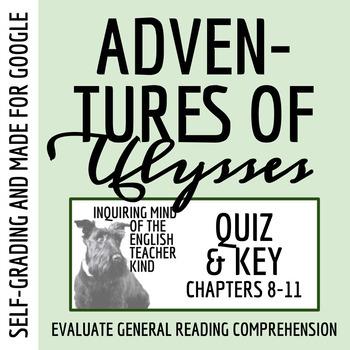 Adventures of Ulysses Quiz (Land of the Dead - Scylla & Ch