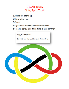 Quiz, Quiz, Trade 6th grade Math STAAR review