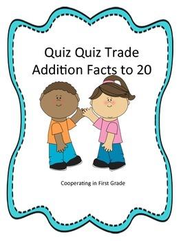 Quiz Quiz Trade Addition to 20