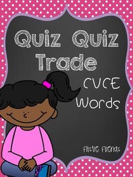 Quiz Quiz Trade CVCE Words