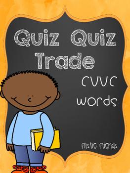 Quiz Quiz Trade CVVC Vowel Teams