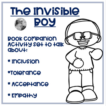 Tpt QQT card for The Invisible Boy