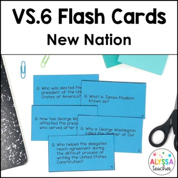 New Nation Flash Cards (VS.6)