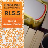 RI.5.5 - Quiz and Answer Guide