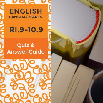 Quiz: RI.9-10.9