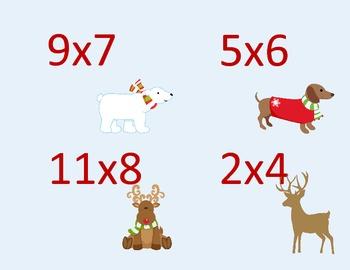 Quiz Trade Multiplication Facts