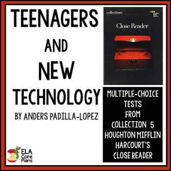 """Quiz for Magazine Article """"Teenagers and New Technology"""" i"""