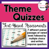 Theme Quizzes: Text-Based Assessments with Multiple Choice