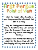 Quotation Marks, Dialogue, & Point of View! {Posters, Cent