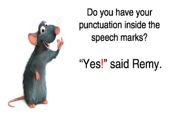 Quotation Marks Posters & Step-by-Step Guide for Grades 2,