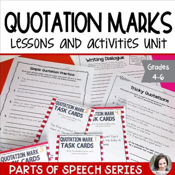 Quotation Marks - Punctuation Series
