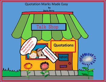 Quotation Marks  Talk Shop
