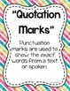 Quotations & Dialogue: Activities for Review & Practice