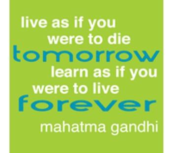 Quote Icons - Muhatma Ghandi