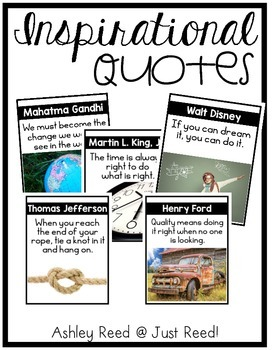 Quote Posters : Famous Historical Figures