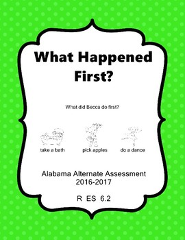 R 6.2 Identify 1st Event in Story NEW Extended Standards AAA