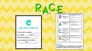 R.A.C.E. handout and posters