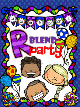 R BLEND PARTY {no prep printables}