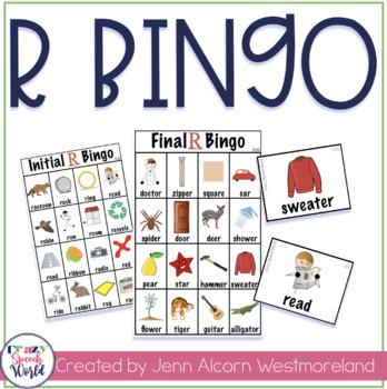 R Bingo for Speech Therapy!