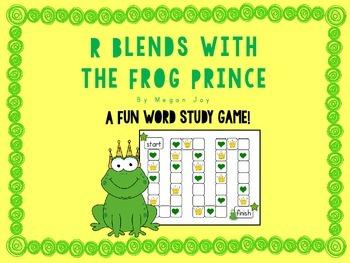R Blend Lesson & Board Game