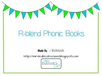 R Blend Phonics Books