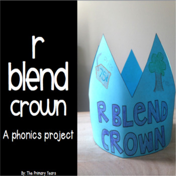 R Blend Word Work Craftivity - A Phonics Project